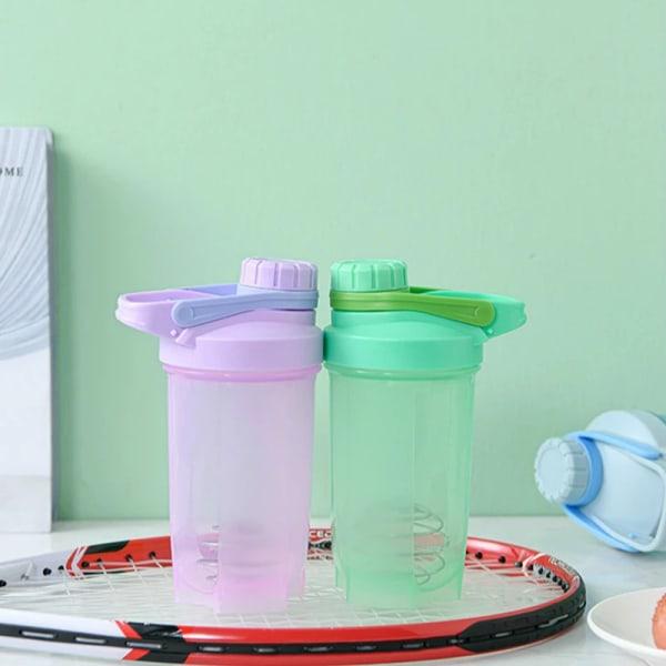 Vattenflaska för dryck Läckagesäker sportmuggflaskor Protein Sh Purple