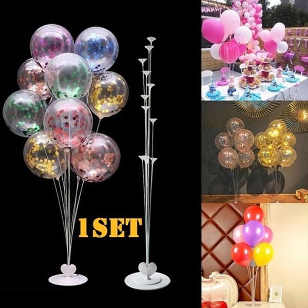 7-i-1 plastballong tillbehörsunderlag Aupporthållare