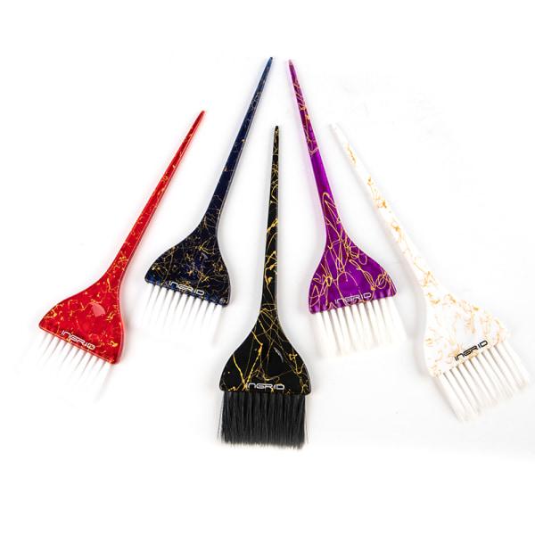 1Pc Dyeing Brush Hair Coloring Brush Hairdressing Dye Cream Bru Blue