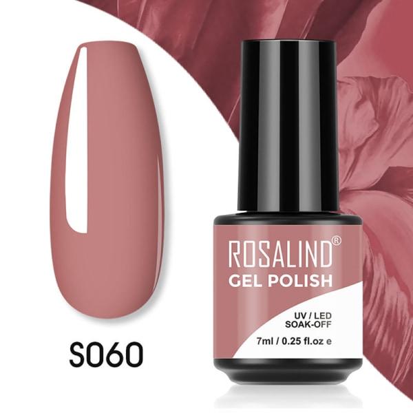 Gel Nagellack Semi Permanent Manikyr Nail Art Gel Hybrid Bas 60