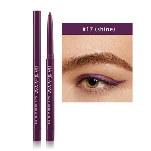 Makeup Vattentät Neon Färgrik Eyelinerpenna Make Comestics Eye 17