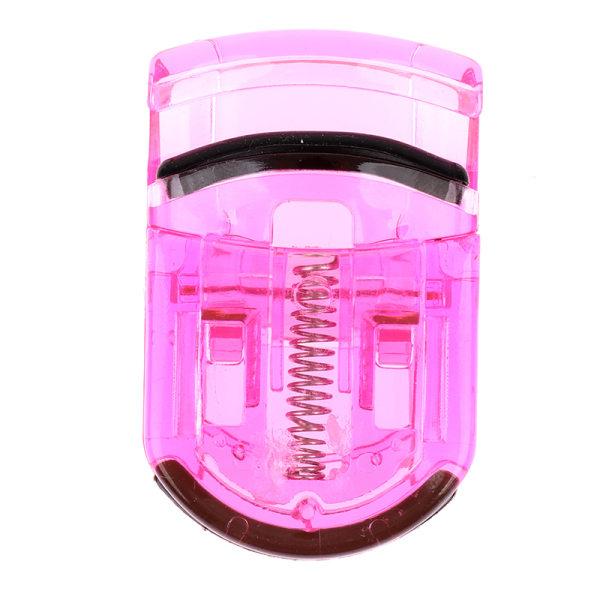 Plast Mini bärbara ögonfransrullare ögonfransar Curling Clip F Dark pink