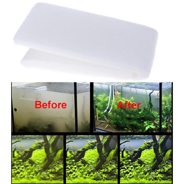 Akvariefilter Biokemiskt filter Bomullssvamp för akvarium F