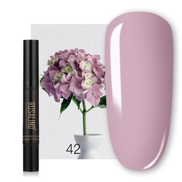 Nail Glitter Magical Mirror Pen Manicure Paljetter naglar behöver Gel 42