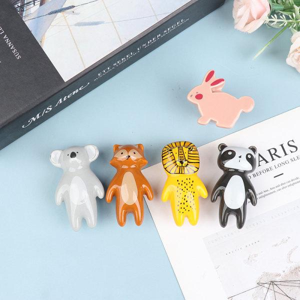 Cartoon Bear e Keramiska möbelhandtag för barnrum Kin E