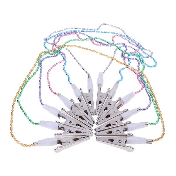 Dental Bib Clip Scarf Clip Servetthållare Dental Förkläden Pad Bib