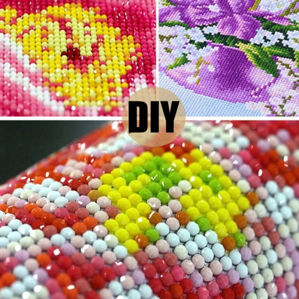 DIY Full Drill Square Diamond Painting Scenery Cross Stitch Kit