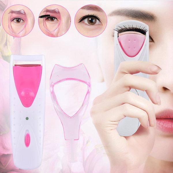 Elektrisk ögonfransrullare Långvarig uppvärmd ögonfransar Curler +
