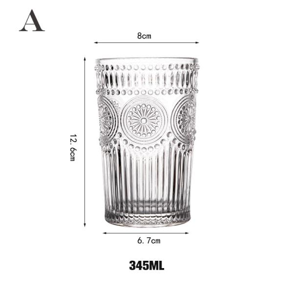 europeiskt retro präglat phnom penh solros värmebeständigt glas A