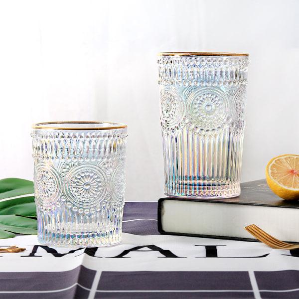 europeiskt retro präglat phnom penh solros värmebeständigt glas F