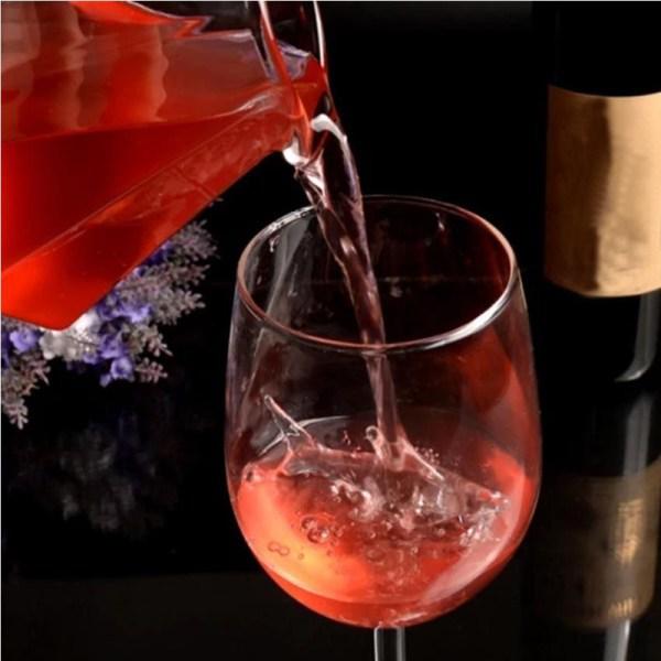Glass vinglas haj rött vin glas hög häl rött vinglas