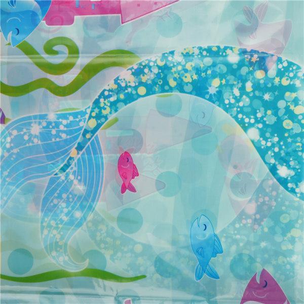 Mermaid Duk baby shower party levererar bord täcka födelse