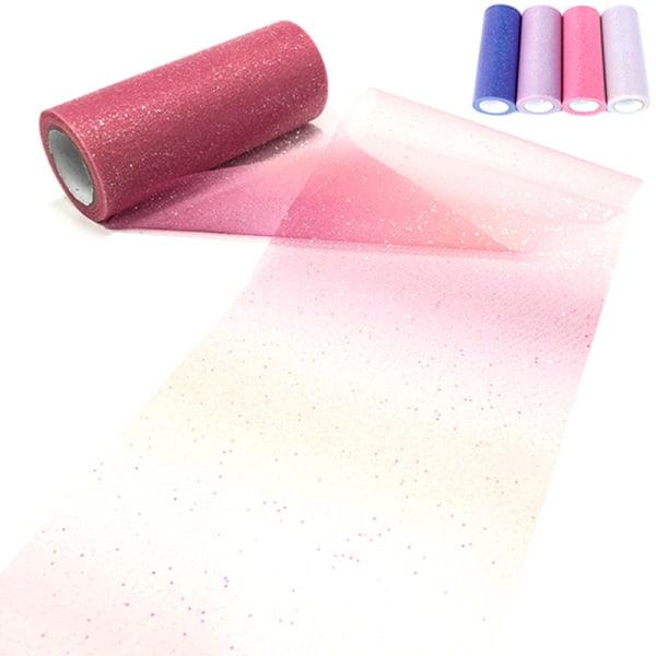 Rainbow Tulle Roll Spool Fabric Ribbon Bolt DIY Table Tutu Skir