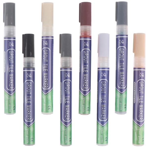 Kakelgap Reparation Färgpenna Vattentät formfast påfyllningsmedel