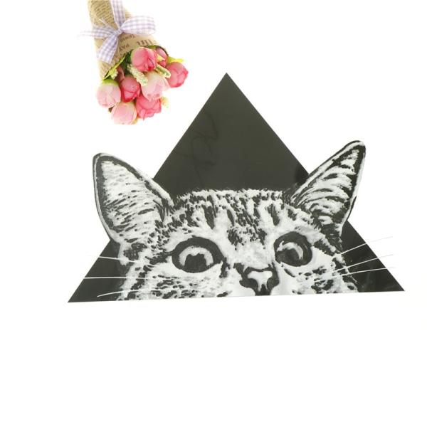 triangel kattmönster patch strykning klistermärken värmeöverföringsjärn