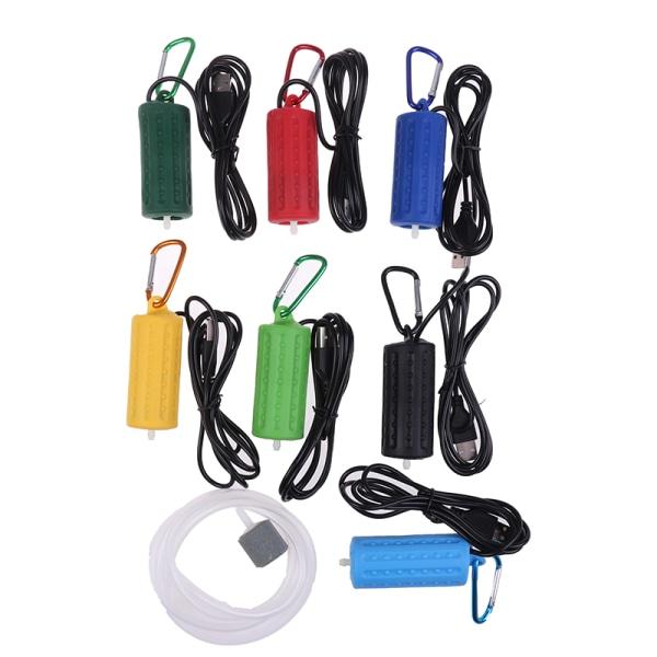 USB Mini Aquarium Filter Oxygen Air Pump för fisketank Aquar