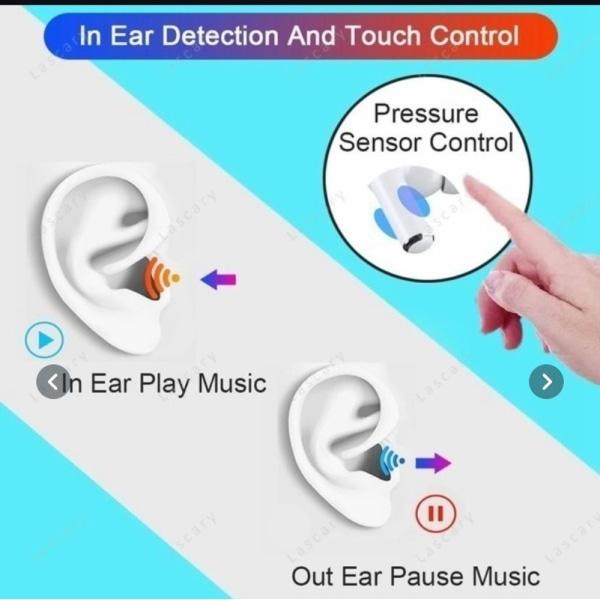 Trådlösa hörlurar / Pro 6 earbuds headphones