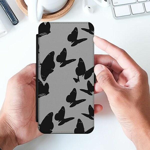 Apple iPhone 8 Slimmat Fodral Dark Butterflies