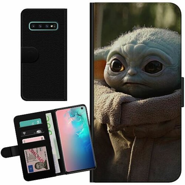 Samsung Galaxy S10 Billigt Fodral Baby Yoda