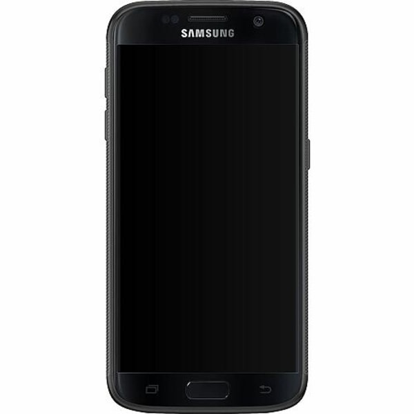 Samsung Galaxy S7 Soft Case (Svart) Among Us