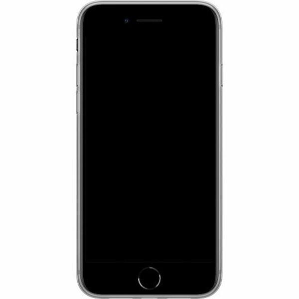 Apple iPhone 8 Mjukt skal - MineCraft Rainbow