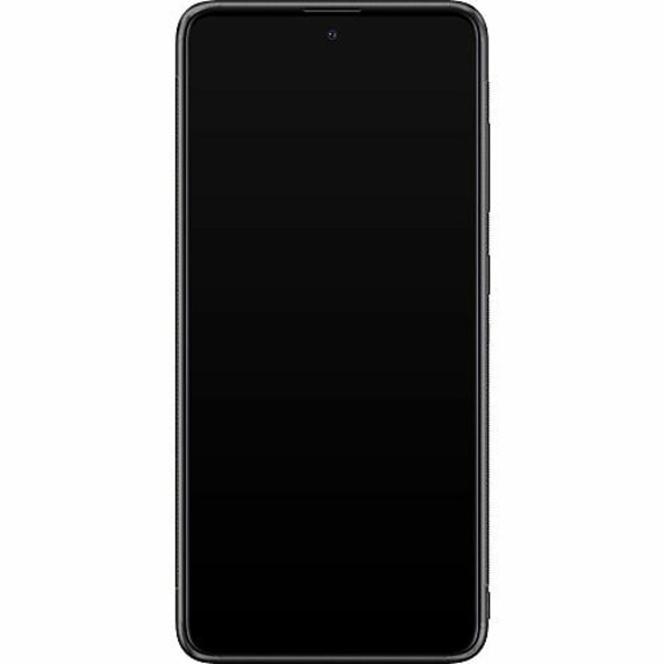 Samsung Galaxy A51 Soft Case (Svart) Statement Wolf 1055