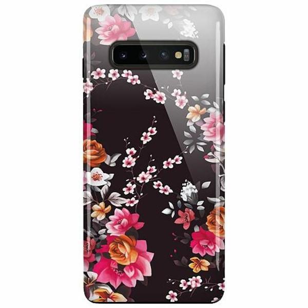 Samsung Galaxy S10 Plus LUX Duo Case (Glansig)  Flower Splash