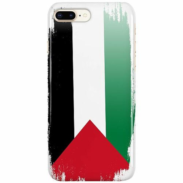 Apple iPhone 7 Plus LUX Mobilskal (Glansig) Palestina Flagga