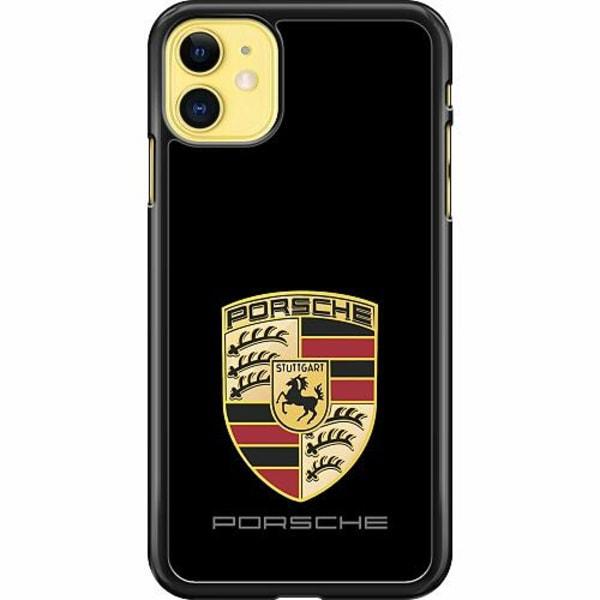 Apple iPhone 11 Hard Case (Svart) Porsche