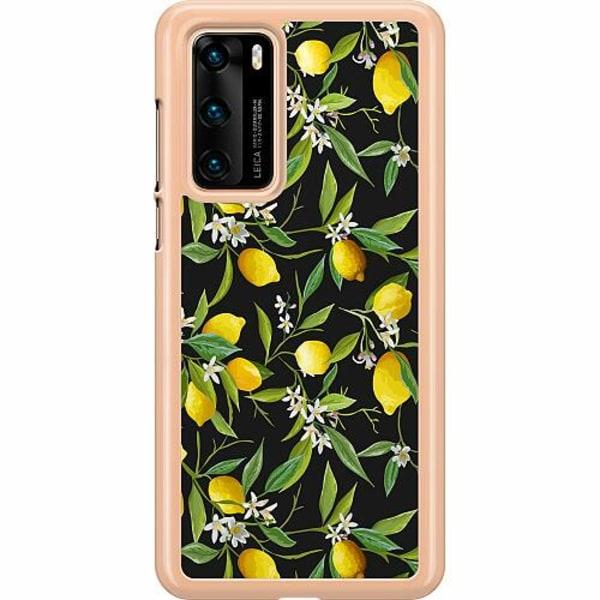 Huawei P40 Hard Case (Clear) Lemonade