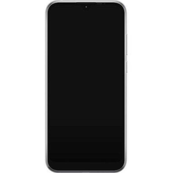 Motorola Moto E6i Thin Case Snake on Grey