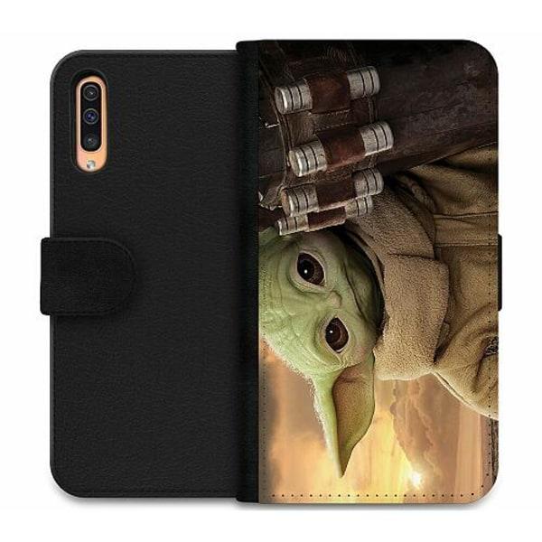 Samsung Galaxy A50 Wallet Case Baby Yoda