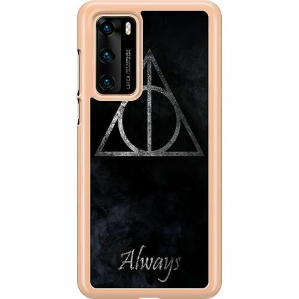 Huawei P40 Hard Case (Clear) Harry Potter