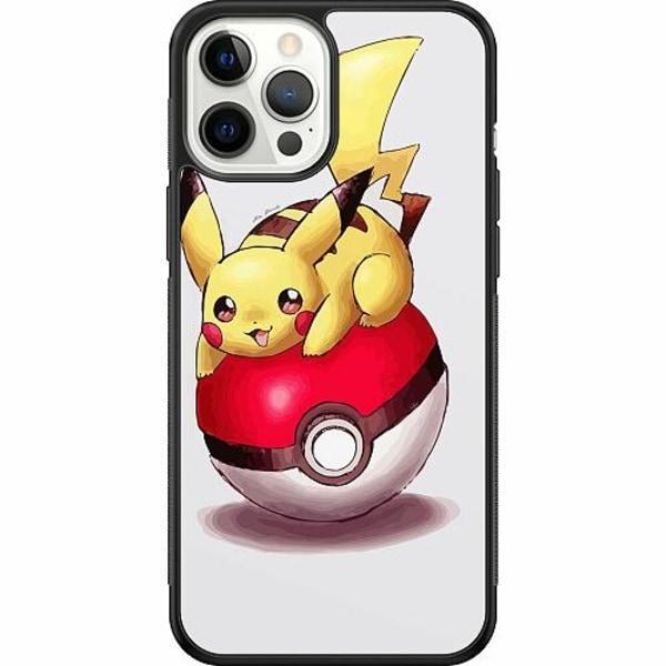 Apple iPhone 12 Pro Max Soft Case (Svart) Pokemon