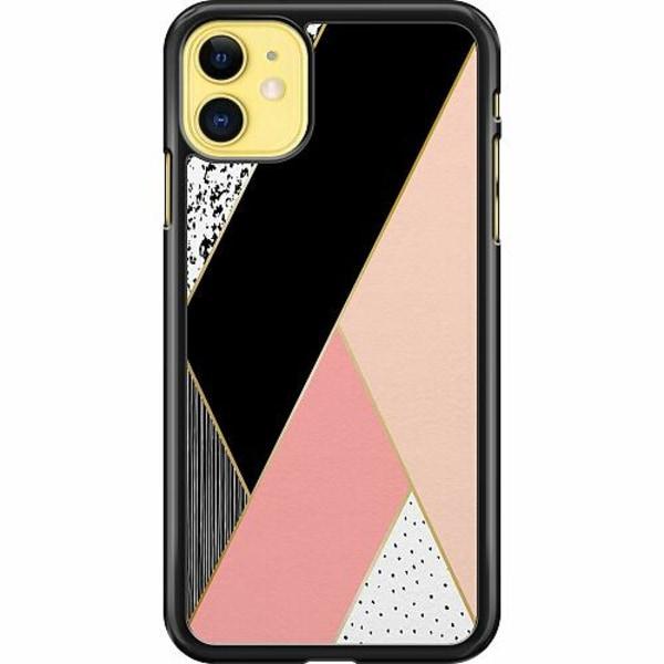 Apple iPhone 11 Hard Case (Svart) Mönster