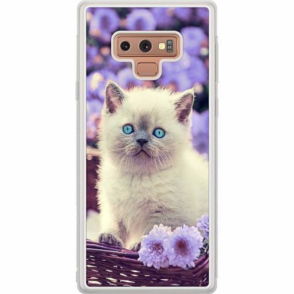 Samsung Galaxy Note 9 Soft Case (Frostad) Katt