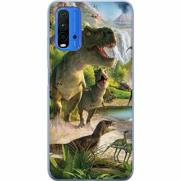 Xiaomi Redmi Note 9T TPU Mobilskal Dinosaurier