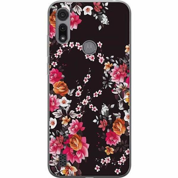 Motorola Moto E6i Thin Case Flower Splash