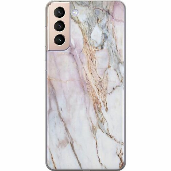 Samsung Galaxy S21+ TPU Mobilskal Marmor