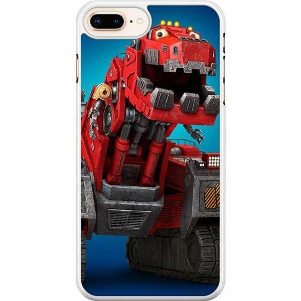 Apple iPhone 7 Plus Hard Case (Vit) Dinotrux