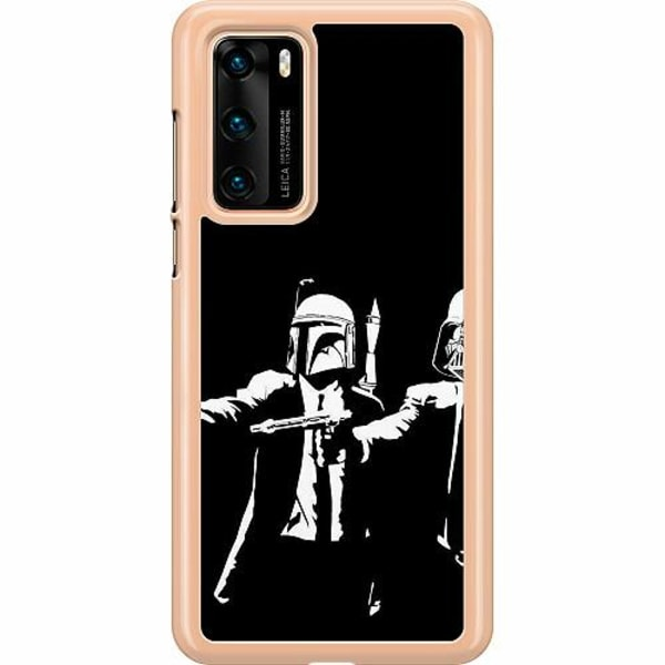 Huawei P40 Hard Case (Clear) Star Wars