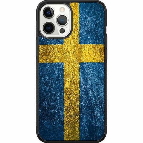 Apple iPhone 12 Pro Max Soft Case (Svart) Sweden