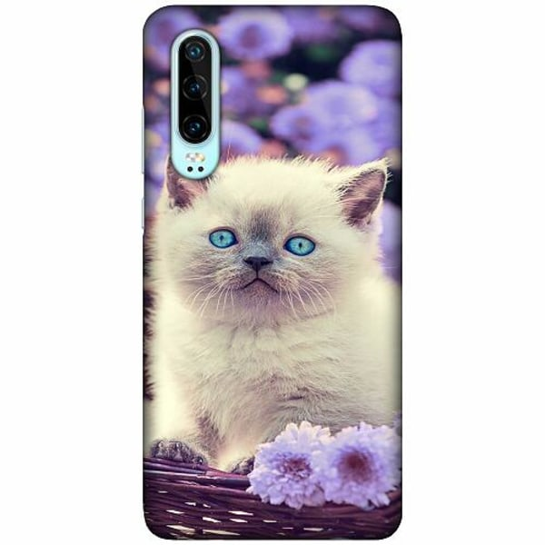 Huawei P30 LUX Mobilskal (Matt) Cute Kitten