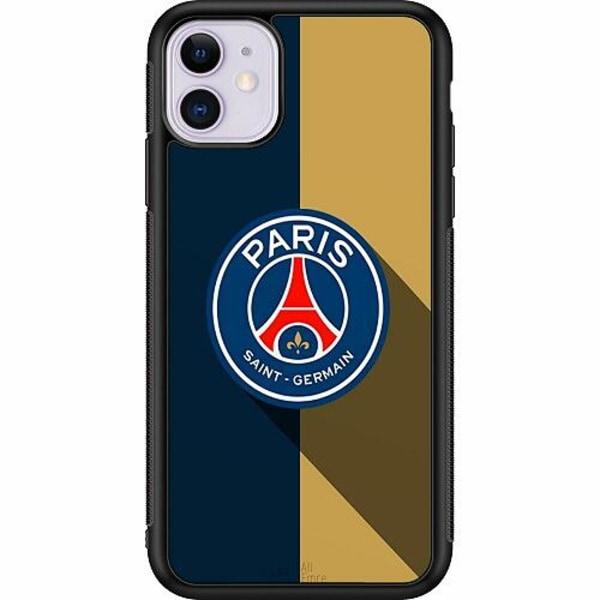 Apple iPhone 11 Soft Case (Svart) Paris Saint-Germain FC