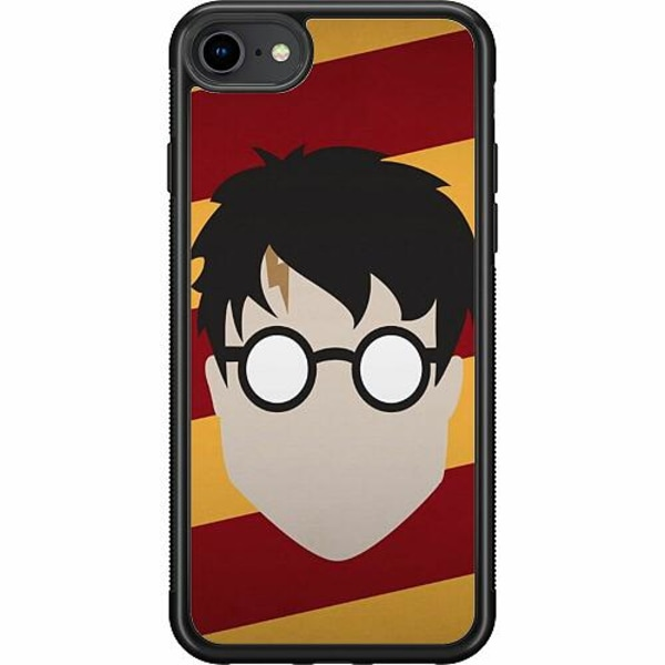 Apple iPhone 7 Soft Case (Svart) Harry Potter