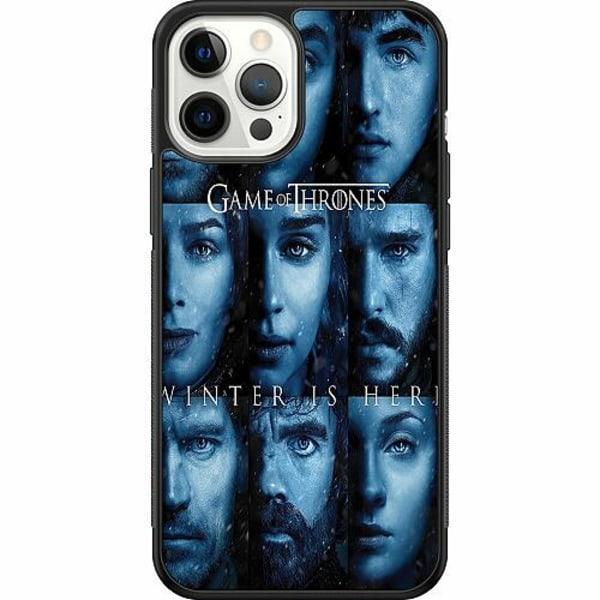 Apple iPhone 12 Pro Max Soft Case (Svart) Game of Thrones