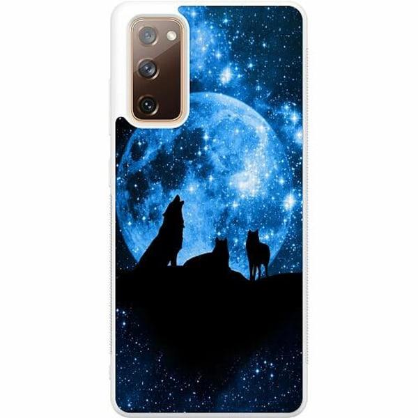 Samsung Galaxy S20 FE Soft Case (Vit) Moon Wolves