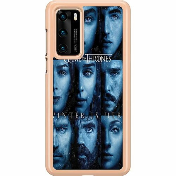 Huawei P40 Hard Case (Clear) Game of Thrones