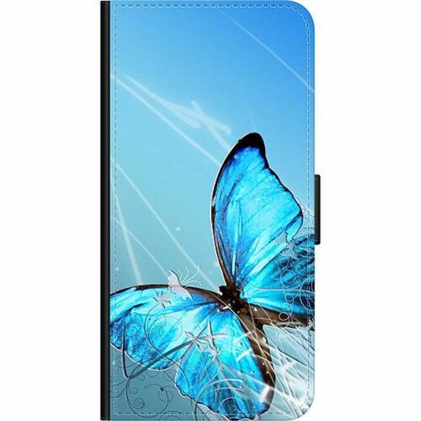 Samsung Galaxy A50 Wallet Case Fjäril
