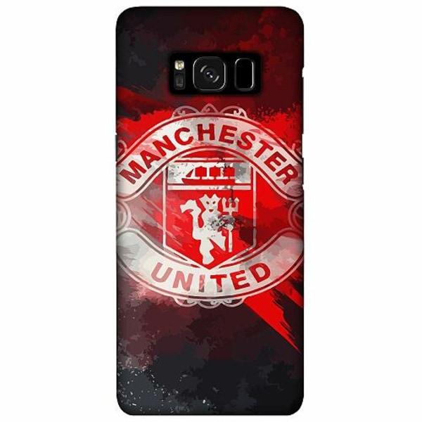 Samsung Galaxy S8 Plus LUX Mobilskal (Matt) Manchester United FC